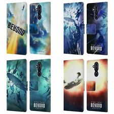 STAR TREK POSTERS BEYOND XIII LEATHER BOOK CASE FOR MICROSOFT NOKIA PHONES