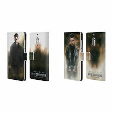 STAR TREK MAGAZINE COVERS DARKNESS XII LEATHER BOOK CASE FOR MICROSOFT PHONES