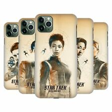 OFFICIAL STAR TREK DISCOVERY GRUNGE CHARACTERS BACK CASE FOR APPLE iPHONE PHONES