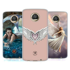 OFFICIAL ANNE STOKES MERMAID AND ANGELS SOFT GEL CASE FOR MOTOROLA PHONES