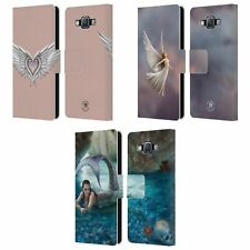 OFFICIAL ANNE STOKES MERMAID AND ANGELS LEATHER BOOK CASE FOR SAMSUNG PHONES 2