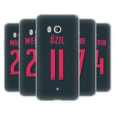 OFFICIAL ARSENAL FC 2017/18 PLAYERS THIRD KIT GROUP 1 GEL CASE FOR HTC PHONES 1