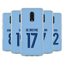 MAN CITY FC 2017/18 PLAYERS HOME KIT GROUP 1 GEL CASE FOR AMAZON ASUS ONEPLUS