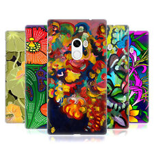 OFFICIAL HOWIE GREEN FLOWERS HARD BACK CASE FOR XIAOMI PHONES