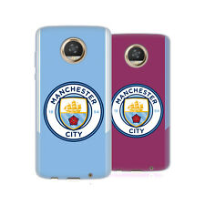 MANCHESTER CITY MAN CITY FC BADGE KIT 2017/18 SOFT GEL CASE FOR MOTOROLA PHONES