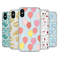 OFFICIAL MARTINA ILLUSTRATION GIRLY PATTERNS GEL CASE FOR APPLE iPHONE PHONES