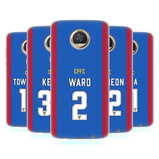 OFFICIAL CRYSTAL PALACE FC 2016/17 PLAYERS HOME KIT GEL CASE FOR MOTOROLA PHONES