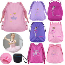 Personalised Kids Ballet Backpack - School Bag Dance Girls Embroidered Toe Gym