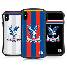 CRYSTAL PALACE FC 2017/18 PLAYERS KIT HYBRID CASE FOR APPLE iPHONES PHONES