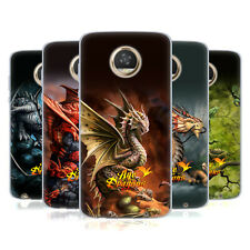 OFFICIAL ANNE STOKES AGE OF DRAGONS SOFT GEL CASE FOR MOTOROLA PHONES
