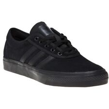 new concept 5651a ff8a0 New Mens adidas Black Adi-Ease Suede Trainers Skate Lace Up