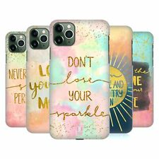 HEAD CASE DESIGNS GOLD QUOTES HARD BACK CASE FOR APPLE iPHONE PHONES