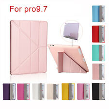 Luxury PU Leather Magnetic Flip Stand Case Cover For Apple iPad 1 2 Mini Pro 9.7