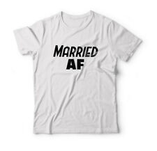 MARRIED AF TSHIRT - HUBBY GIFT T-SHIRT - HUSBAND SHIRT WIFEY TOP WIFE GIFTS