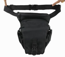 Men Waist Leg Drop Bag Tactical Military Motorcycle Riding Nylon Fanny Pack