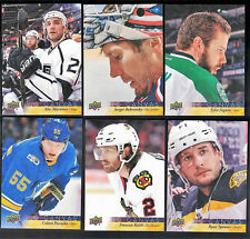 Upper Deck Canvas Hockey Cards - Various Years '12-'17 - You Pick