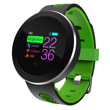 Bluetooth Smart Watch Heart Rate Monitor Wristband Bracelet For IOS & Android