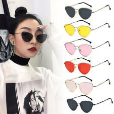 AB14 Women Sunglasses Lens Oval Frame Cat Eye Oversized Fashion Style Anti-UV