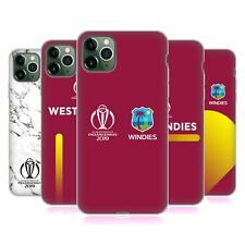 OFFICIAL ICC WEST INDIES CRICKET WORLD CUP SOFT GEL CASE FOR APPLE iPHONE PHONES