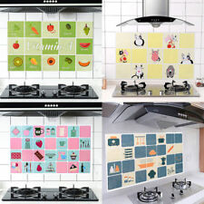 Kitchen Practical Self-adhesive Wall Paper Waterproof Foil Sticker Anti-oil Wrap