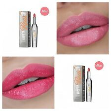 ❤Benefit They're Real Lipstick: Lusty Rose, Revved-Up Red/0.75 g - AUTHENTIC❤