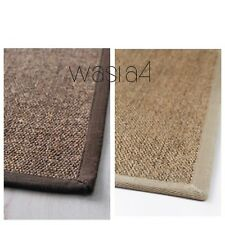 RARE & DISCONTINUED IKEA OSTED Flatwoven RUG Sisal,Hard-Wearing Durable 80x140cm