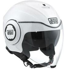 Casco Demi-Jet AGV FLUID SOLID pearl white