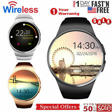Bluetooth Smart Watch Waterproof Touch Screen Phone Mate for iOS Android Phones