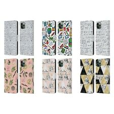 JULIA BADEEVA ASSORTED PATTERNS 3 LEATHER BOOK CASE FOR APPLE iPHONE PHONES