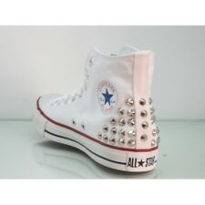 Converse All Star Chicago [Prodotto Customizzato] Scarpe Borchiate ORIGINALI 100