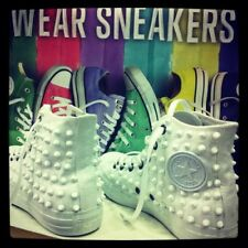 Converse All Star Hawaii [Prodotto Customizzato] Scarpe Borchiate ORIGINALI 100%