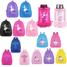 Kids Children Ballet Dance Backpack School Dancing Rucksack Girl Shoulder Bags