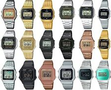 Casio Retro Digital Chronograph Bracelet Watch for Ladies Gents Girls & Boys