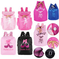 Personalised Ballerina Ballet Girls Kids Backpack Infant Drawstring Shoulder Bag