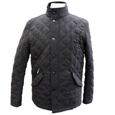 Barbour Mens Shoveler Quilted Jacket - Navy - Small