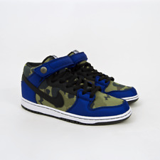 Nike SB - Made For Skate Dunk Mid Shoes - Old Royal / Black