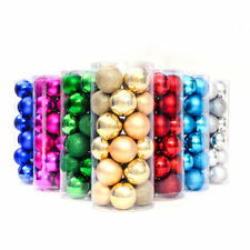 Christmas Tree Decorations Xmas Balls Baubles Party Wedding Ornament 24pcs/set