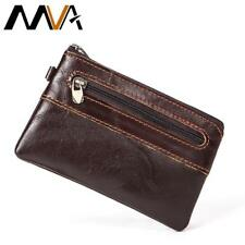 MVA Coin Purse Men Genuine Leather Men Wallets Leather Wallets Small Slim Wallet