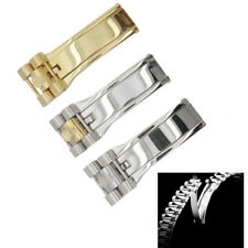 New Stainless Steel President Deployment Hidden Clasp Buckle For (Fit) Rolex
