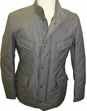 Barbour Mens Fourfeld Quilted Jacket Grey - Size S