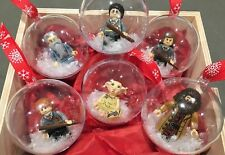 HARRY POTTER Handmade Christmas tree baubles fit LEGO gift present mini figures