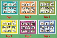 Major League Baseball and Various OTHER Stamp Sheets - NM/MT