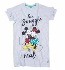 Official Women's Minnie And Mickey The Snuggle Is Real Nightshirt