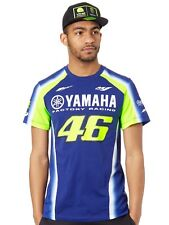 Valentino Rossi Yamaha Blue-Yellow VR46 Racing T-Shirt
