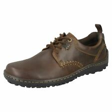 Mens Hush Puppies-Formal Lace Up Shoes Belfast Lace
