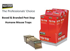 """Pest-Stop """"Humane"""" Mouse Trap {Boxed & Branded} Trip-Trap, with Bait Option."""