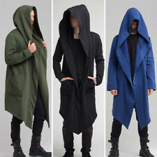 Men Coat Outerwear Plus Size Casual Hoodie Hooded Cardigan Fashion High Quality