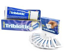 TRIBIOTIC ANTIBACTERIAL OINTMENT BACTERIAL SKIN INFECTION -CUTS BURNS WOUNDS 14g