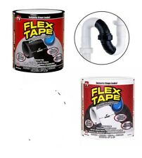 "Brand New Strong WaterProof flexible Tape 4"" x 5' Rubberized Seal Stop Leaks UK"