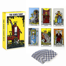 78 x Tarot Cards Deck Vintage Colorful Box Future Telling Game Cards Rider Waite